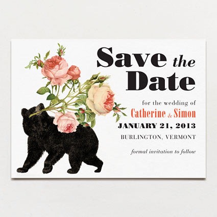 Bearing Gifts Save The Date