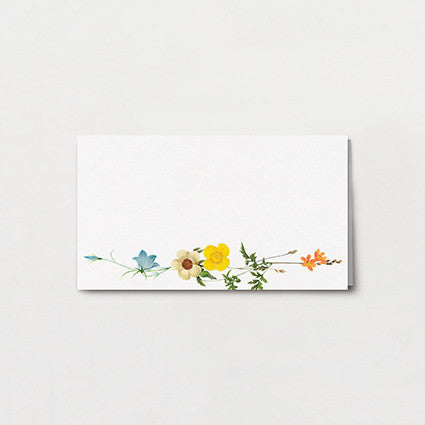 Bouquet Place Card