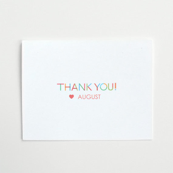 Cut Out Thank You Free Printable