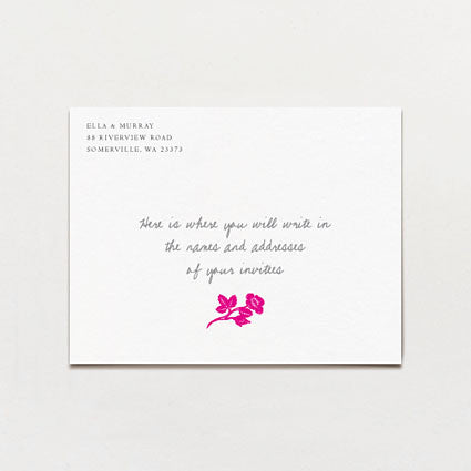 Garland Save The Date Postcard