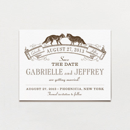 Kindred Spirits Save The Date Postcard