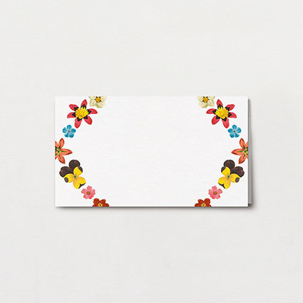 Pattern Petal Place Card