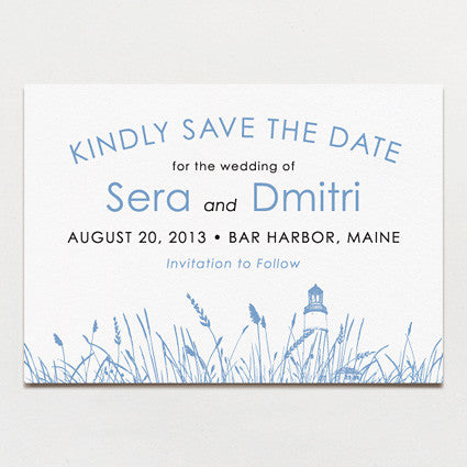 Seagrass Save The Date