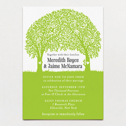 Woodland Love Wedding Invitation