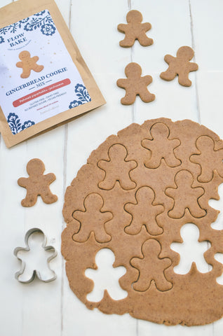 Flow Bake Gingerbread Cookie mix