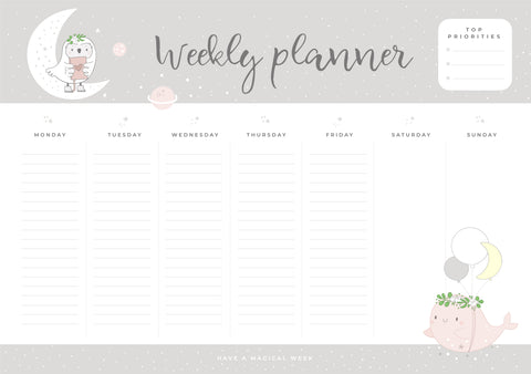 Night Owl | Weekly Planner