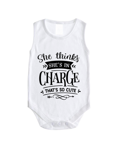Printed Vest | She Thinks She's In Charge