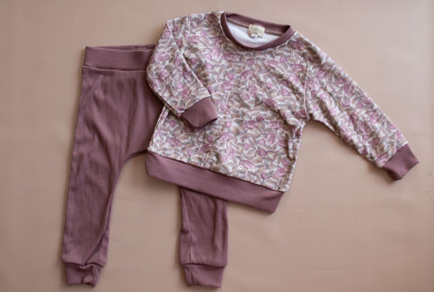 Lilac Floral Sweater Set | PRE-ORDER