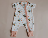 Insects Zip Onesie  (Prints)