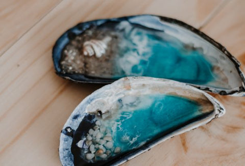 Seascape Trinket Trays