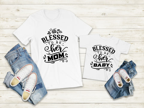 Matching Tee's | Blessed Girl