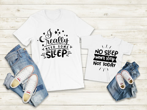 Matching Tee's | No Sleep