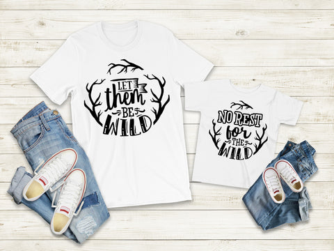Matching Tee's | Let Them Be Wild
