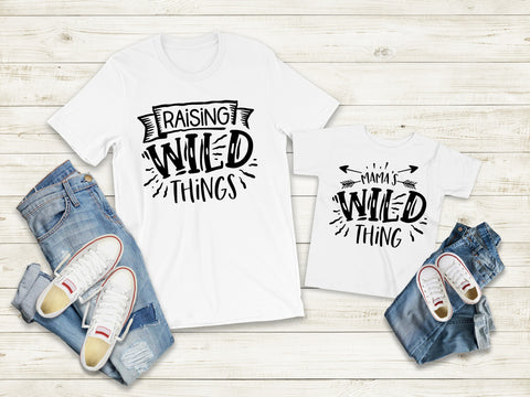 Matching Tee's | Raising Wild Things