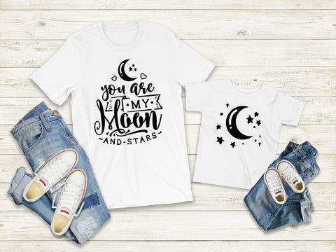 Matching Tee's | You Are My Moon & Stars