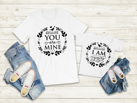 Matching Tee's | You Are Mine
