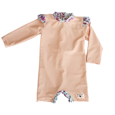 Tan | Floral Edging
