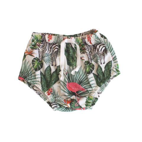 Tushy Shorts | Zebra & Flamingo