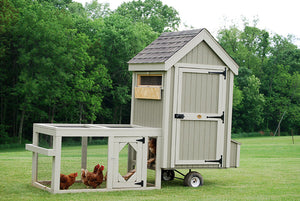Colonial Gable Run Chicken Coop