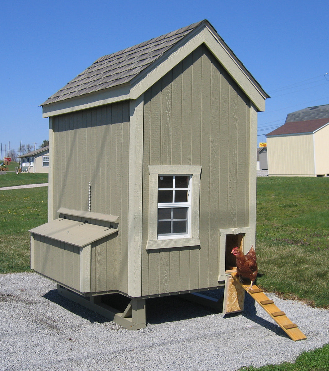 Colonial Gable Chicken Coop