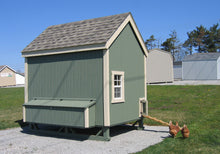 Load image into Gallery viewer, Colonial Gable Chicken Coop