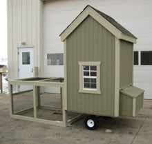 Load image into Gallery viewer, Colonial Gable Run Chicken Coop