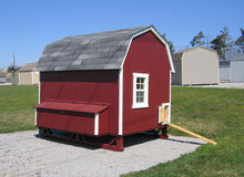 Load image into Gallery viewer, Gambrel Barn Chicken Coop