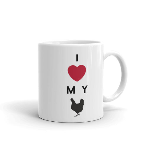 I Love My Chicken Mug