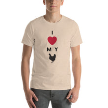 Load image into Gallery viewer, I Love My Chicken T Shirt