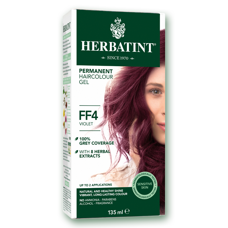 "Herbatint™ ""FF"" Series Natural Herb Based Hair Colour #FF4 Violet"