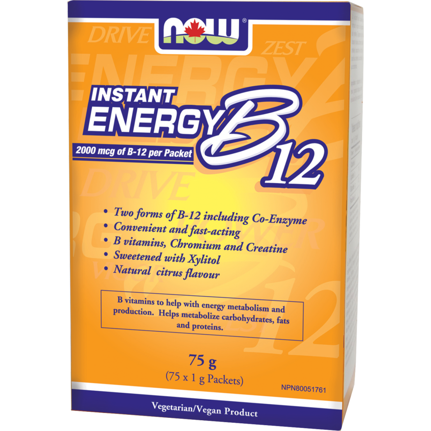 Instant Energy B-12 2000 mcg Packets