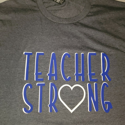 Teacher Strong Printer Customized T-shirt