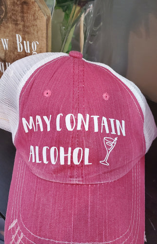 Adjustable Pink Hat