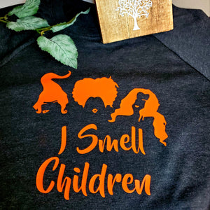I Smell Children Longsleeve Black Shirt