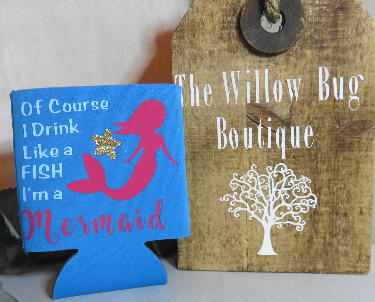 Now keep your beer and sodas every time chilled with Coozie. Shop online set of Koozie from the Willow Bug Boutique Store