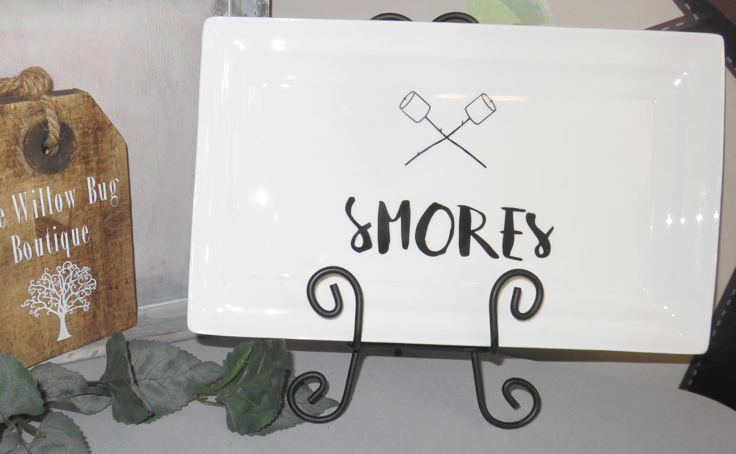 Shop Smores Serving Tray and Platter