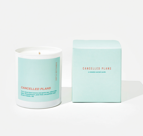 Canceled Plans Scented Candle