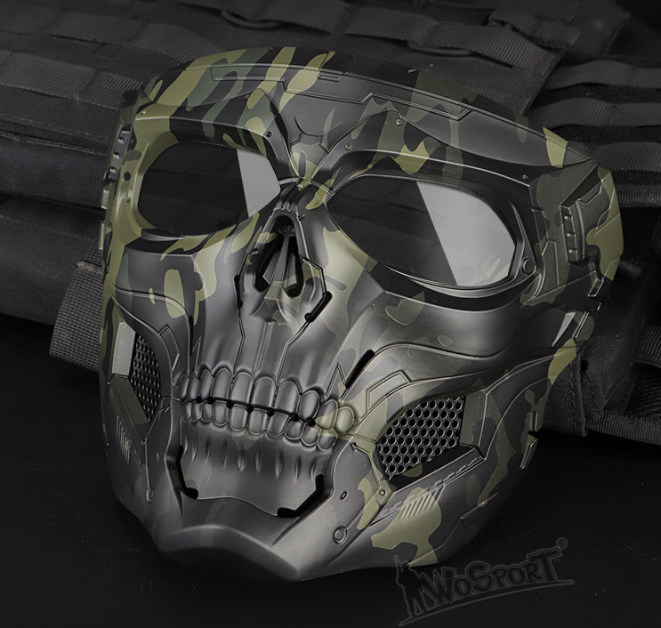 Limit Discounts — Camouflage skeleton mask