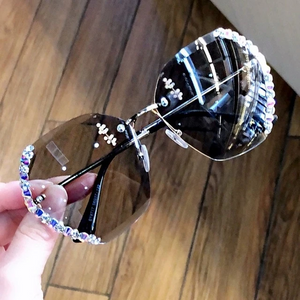 2020 Fashion Crystal Sunglasses