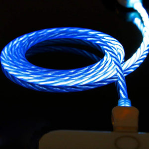 (HOT!!!) Magnetic LED Streamer Charging Cable