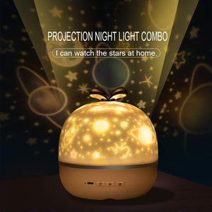 Starlight projection lamp music-Connect Bluetooth to listen to music