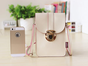 Touchable PU Leather Change Bag
