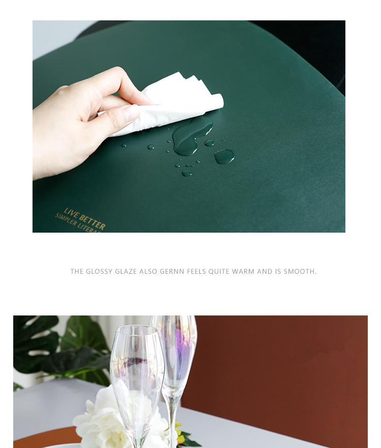 Einfache Designer Placemats by Sia