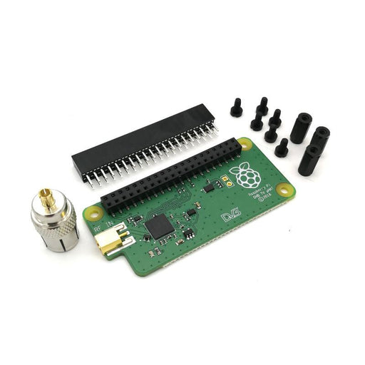 Digital Tuner DVB T and T2 TV uHAT for Raspberry Pi Sony CXD2880 Network Streaming