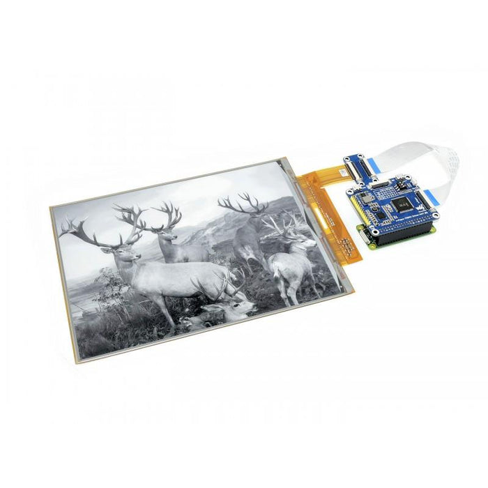 1872x1404p 10.3-inch Flexible E-Ink Display HAT for Raspberry Pi