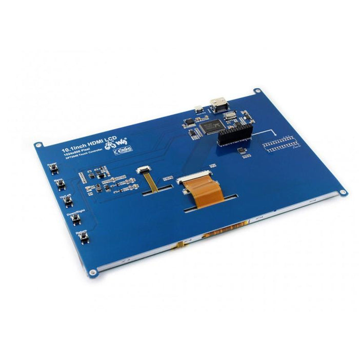 1024x600p 10.1-inch HDMI LCD for Raspberry Pi