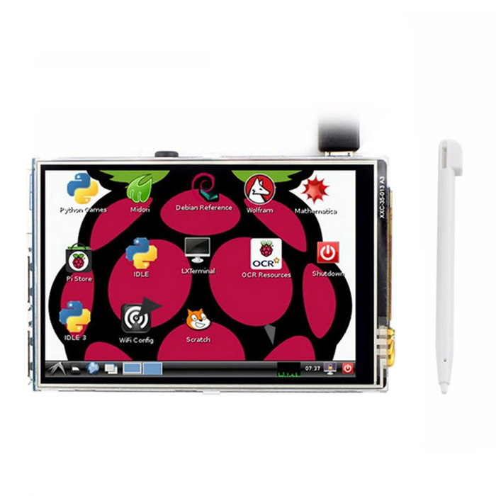 3.5 Inch TFT LCD Module For Raspberry Pi 2 & 3