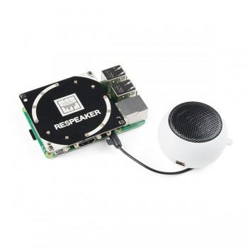 ReSpeaker Quad-Microphone (4-Mic) Array (Raspberry Pi Compatible)