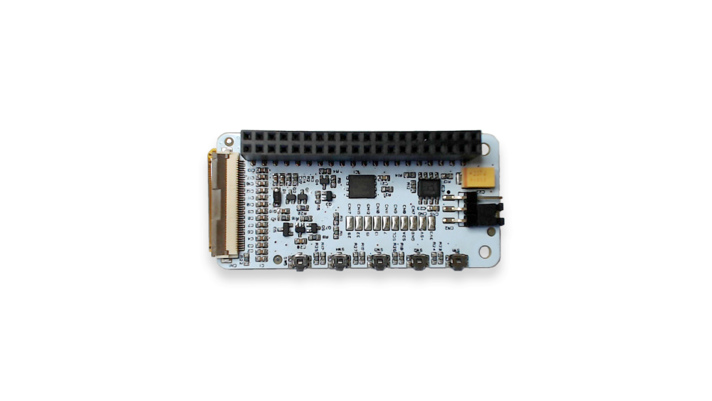 PaPiRus 2.0-inch e-Ink Screen HAT for Raspberry Pi ZERO