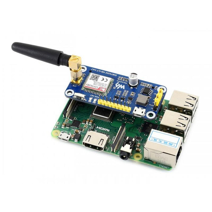 SIM7020E NB-IoT HAT for Raspberry Pi